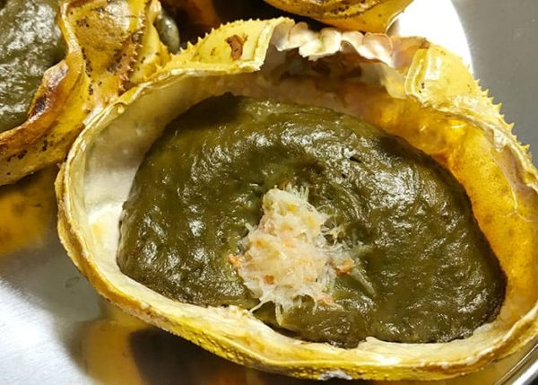 カニ身入り カニ味噌 甲羅焼き 冷凍食品 オーブントースター 加熱