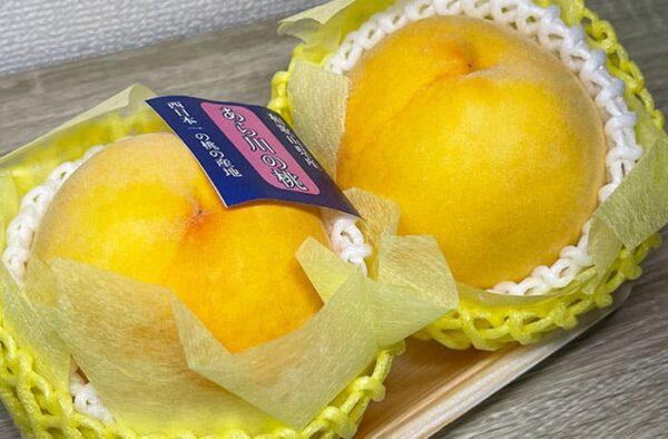 あら川の桃 黄金桃