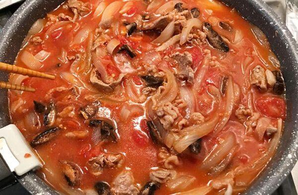 トキハソース 生ソース 牛肉のトマト煮