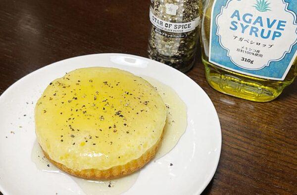 観音屋 チーズケーキ アレンジ はちみつ アガベシロップ